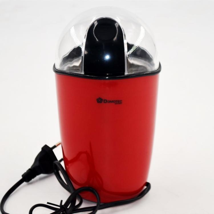 Кофемолка Domotec MS-1306 220V 200W красная мощная ножевая мельница для кофе Домотек ms 1306 электрокофемолка