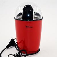 Кофемолка Domotec MS-1306 220V 200W красная мощная ножевая мельница для кофе Домотек ms 1306 электрокофемолка, фото 1