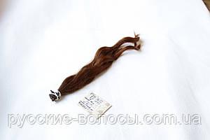 Акция! Детские волосики славянские окрашенные волнистые. Микрокольца.