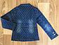 Джинсова куртка для дівчаток на 12-16 років (Угорщина), фото 2