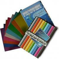 Картон цветной Бумвест 9В01 ф. А-4, 9 листов, металлик