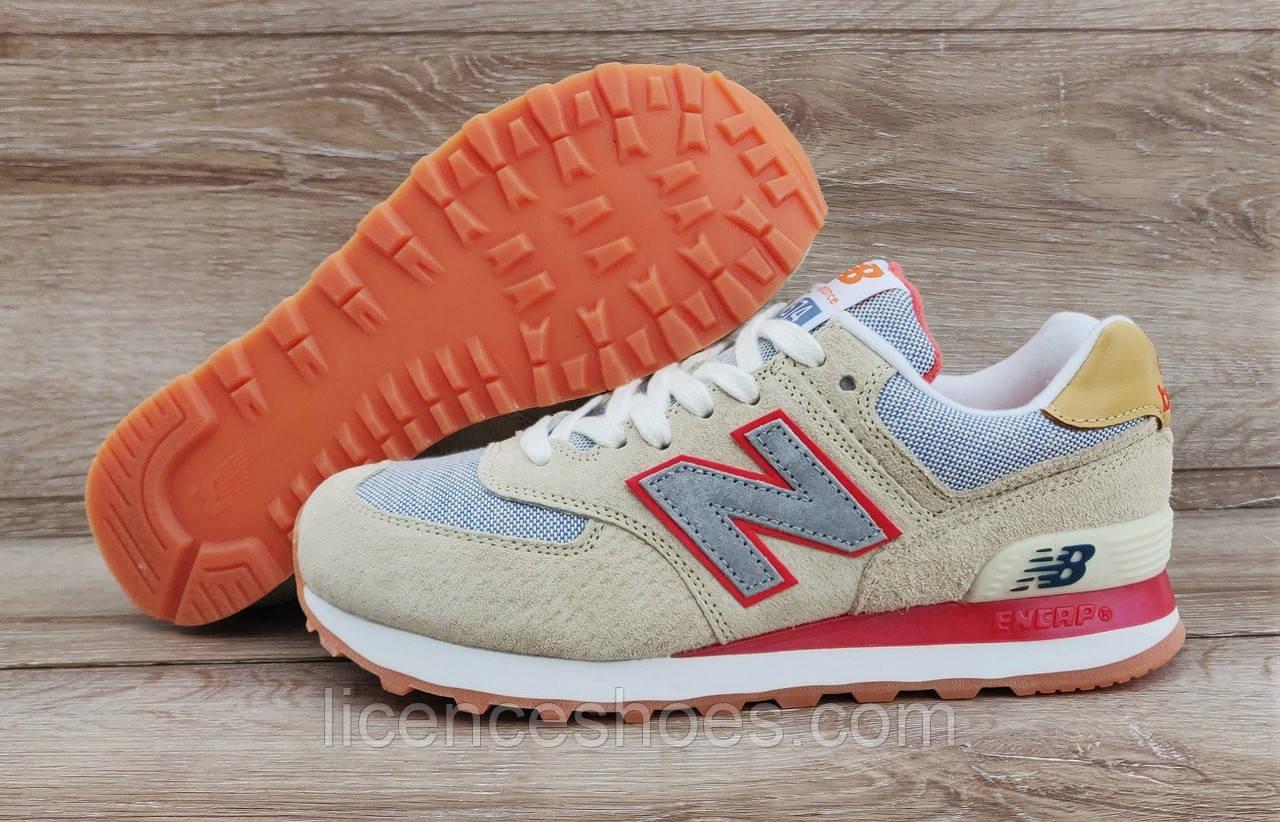 Детские, подростковые кроссовки New Balance 574 Beige - Интернет магазин  мужской и женской обуви LicenceShoes a9137a02a21