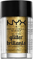 Глиттер + праймер NYX glitter primer and face and body glitter briliants