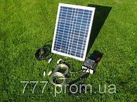 Походная Мини Электростанция на Солнечных Батареях 20W-12V, банк солнечной энергии, продажа в Украине, фото 1