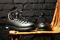 Зимние ботинки Native Fitzsimmons черные (реплика ААА+), фото 1
