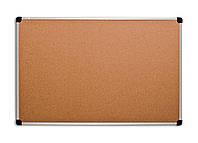 Доска ABC 90х120 см пробковая алюминевая рама S-line 139012