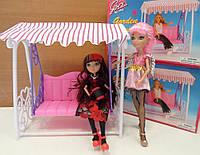 Детские игрушечные садовые качели для куклы | «Gloria»