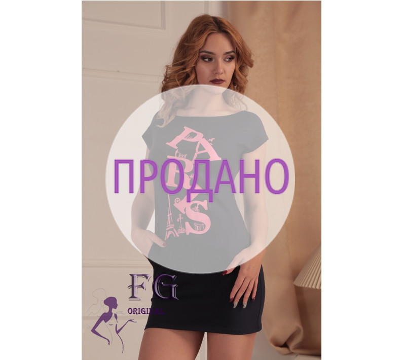 """Короткая туника с карманами """"Summer"""""""