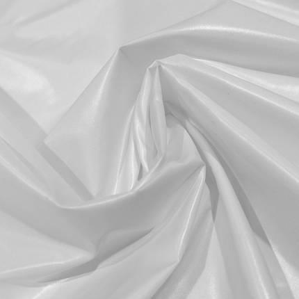 Плащевая ткань лаке белая, фото 2