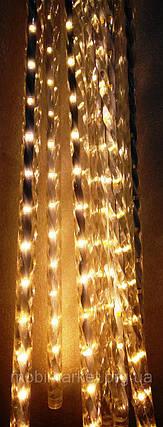 Сосульки гірлянди жовті, 8шт 50см, фото 2