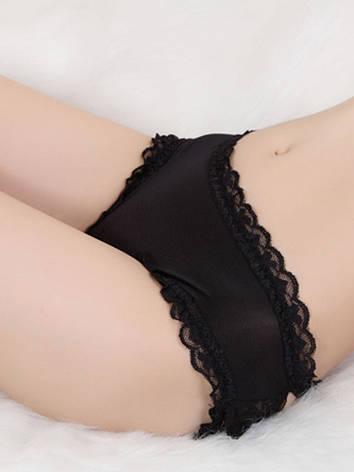 Женские черные трусики с рюшами, фото 2