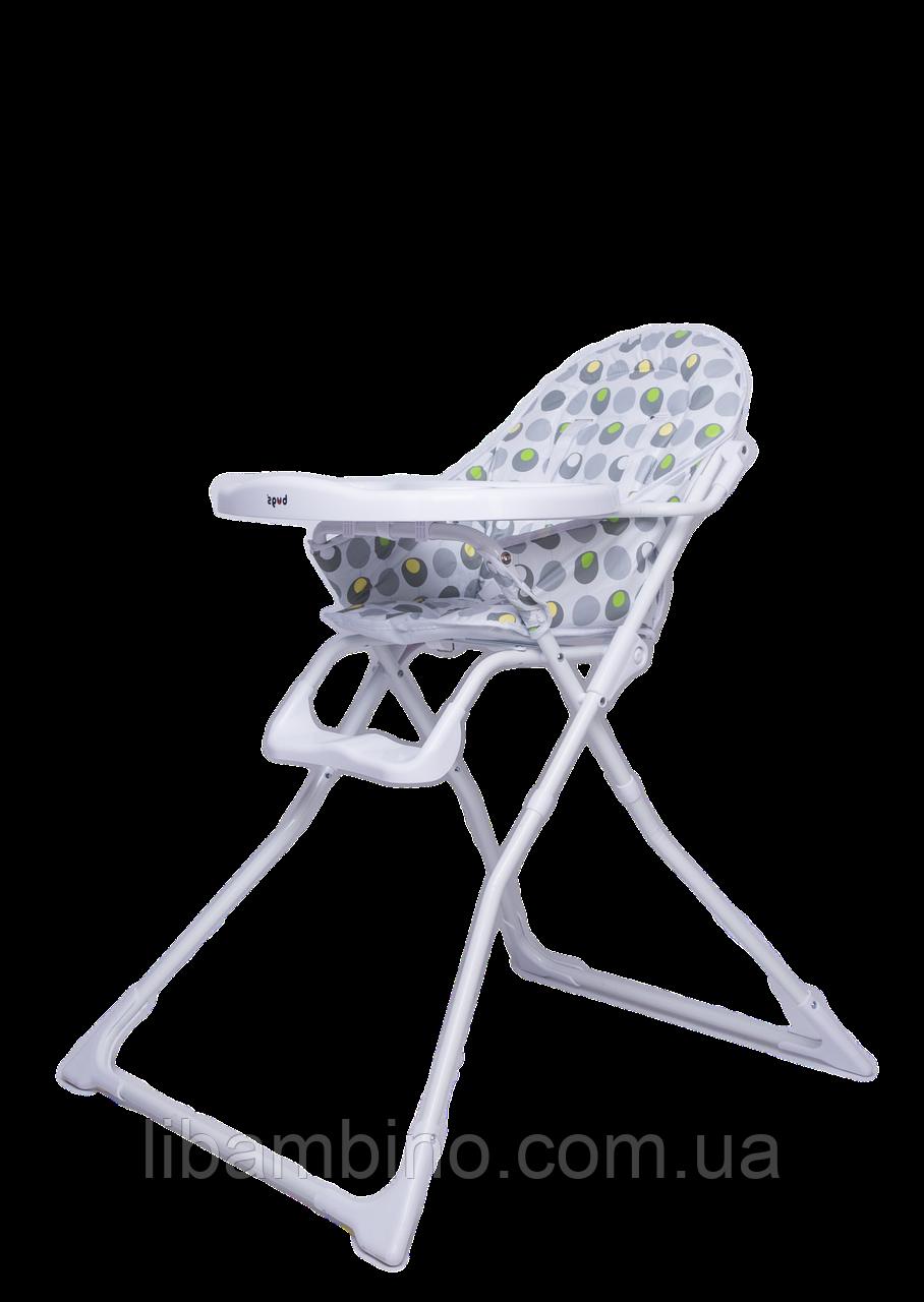 Дитячий універсальний стільчик для годування Bugs Smart - Білий, фото 1