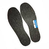 Зимние теплые стельки для обуви на фетре р. 36 - 47