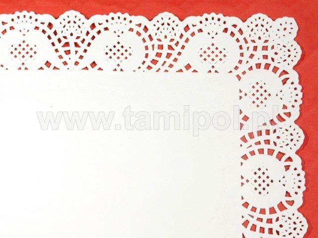 Салфетка кондитерская бумажная прямоугольная,  30х40 (100шт) (1 пач)