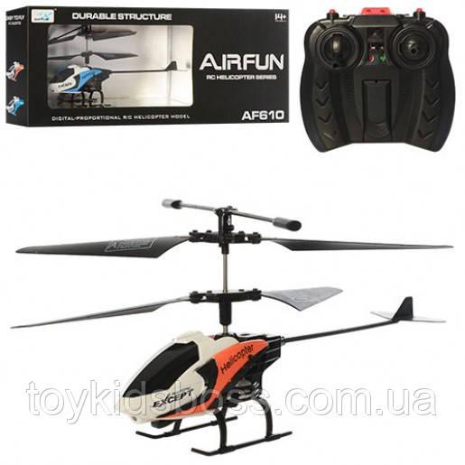 Вертоліт на пульті управління Airfun