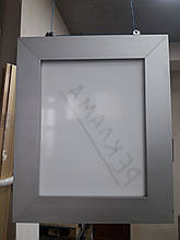 Рекламная вывеска из торгового профиля модели 2721