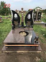 Подвійний пам'ятник з жадковського граніту