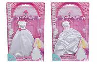 Одежда для куклы. Наряд невесты, 4 вида (572 1167)