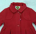 Пальто для девочки розовое (QuadriFoglio, Польша), фото 2