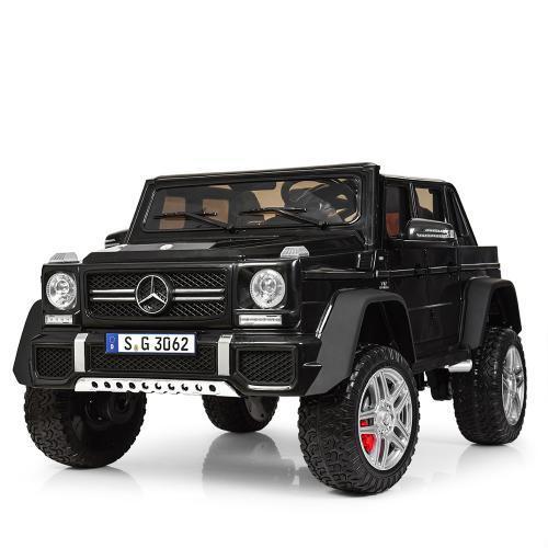 Электромобиль Джип  M 4000EBLR-2 черный