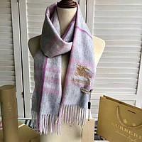 Кашемировый женский шарф в стиле Burberry НОВИНКА