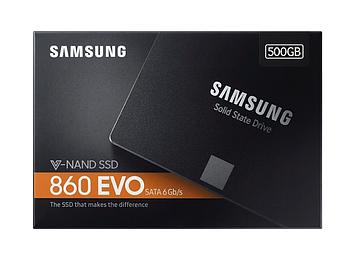 """SSD Samsung 860 Evo 500GB 2.5"""" SATA III V-NAND MLC (MZ-76E500BW)"""