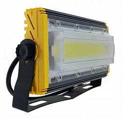 Прожектор светодиодный уличный LTL 50w led cob line ww 6000k ip66