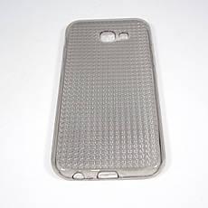 Чехол TPU Diamond Shine Samsung Galaxy A520 black, фото 3