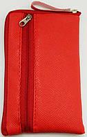 Чехол для телефона на змейке средний красный, фото 1