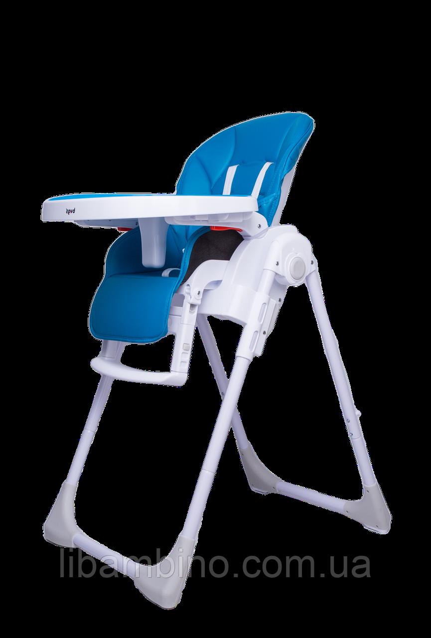 Дитячий універсальний стільчик для годування Bugs Studio - Синій