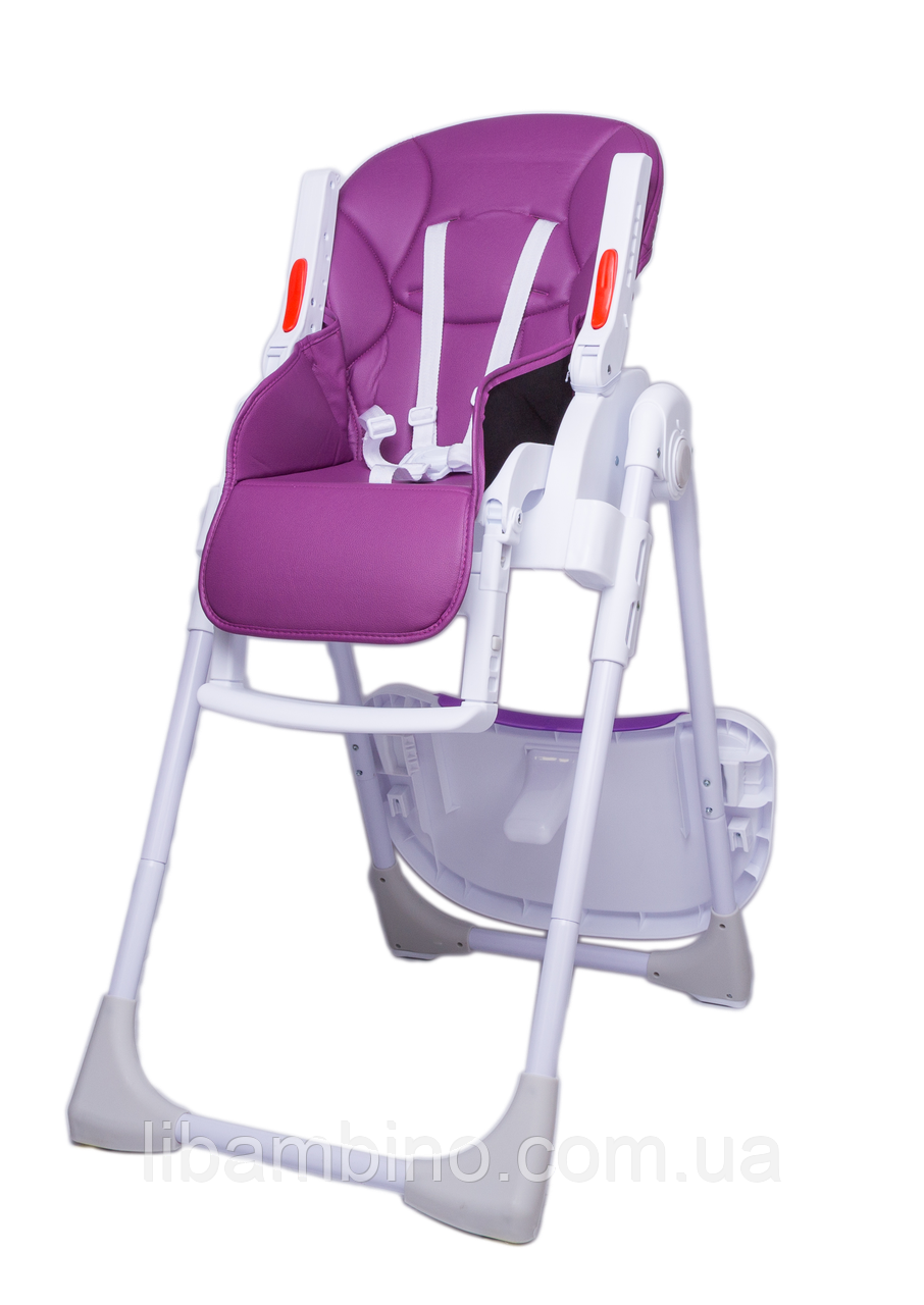 Дитячий універсальний стільчик для годування Bugs Studio - Фіолетовий