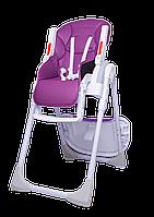 Дитячий універсальний стільчик для годування Bugs Studio - Фіолетовий, фото 1