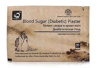 """Пластырь для баланса сахара в крови Hiherbs """"Blood Sugar Diabetic Plaster"""" 5 шт."""