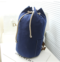Рюкзак-мешок Muzhilan синий мешковина