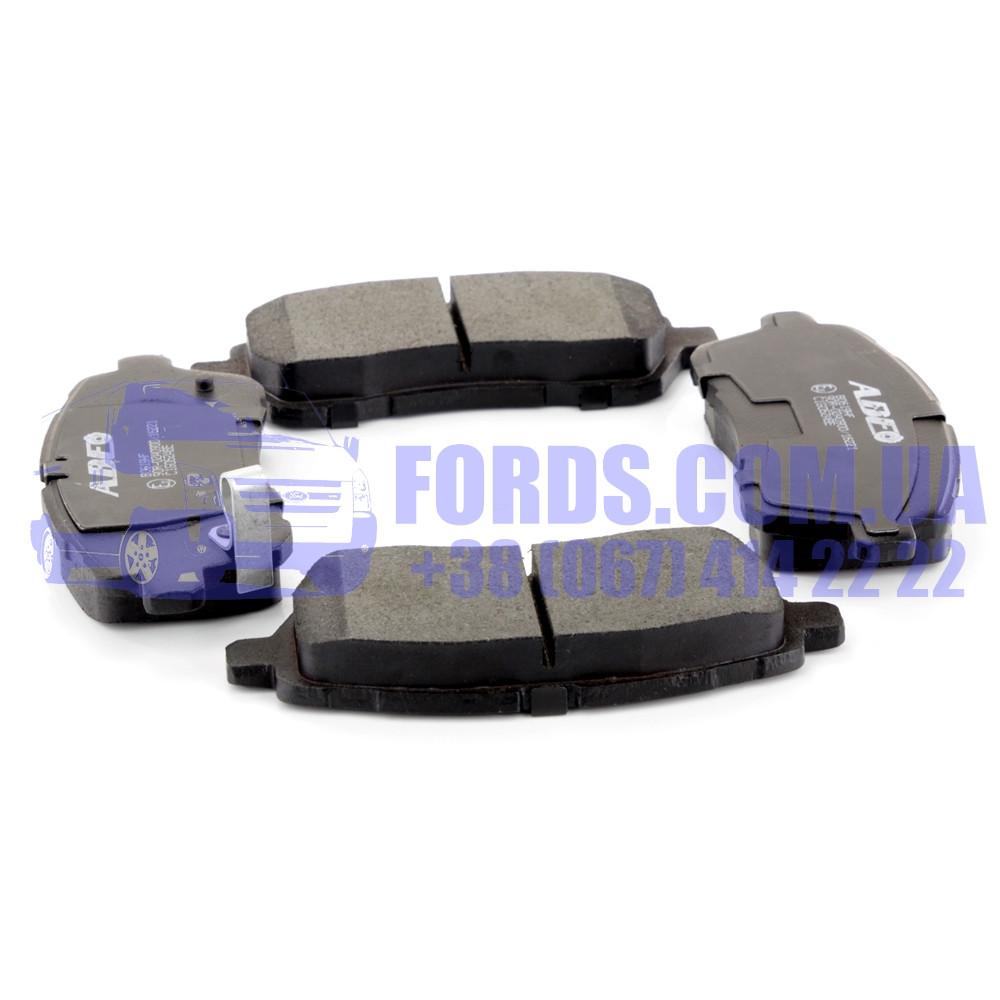 Колодки тормозные передние FORD FIESTA 2008- (1855307/8V512K021BB/C1G062ABE) ABE