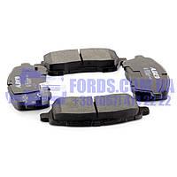 Колодки тормозные передние FORD FIESTA 2008- (1855307/8V512K021BB/C1G062ABE) ABE, фото 1