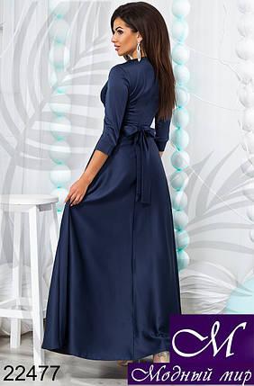 Длинное женское платье из шелка (р. 42, 44, 46) арт. 22477, фото 2