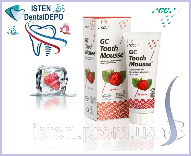 Крем Tooth Mousse КЛУБНИКА [Тус мус Тусс мусс], 40 гр.|35 мл.
