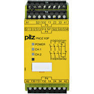 777314 Реле безпеки PILZ PNOZ X3.10P 24VACDC 3n/o 1n/c 1so, фото 2