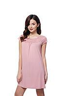 Жіноча сорочка ELLEN Рожевий пудровий Модал 131/001