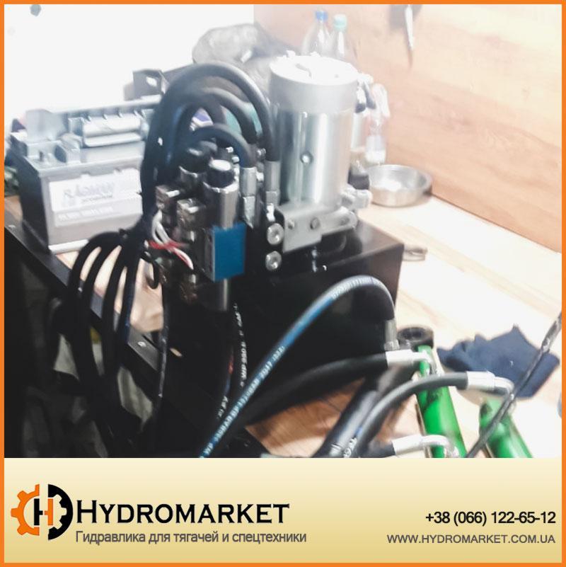 Электрогидравлика для поднятия сцены 12V, фото 1