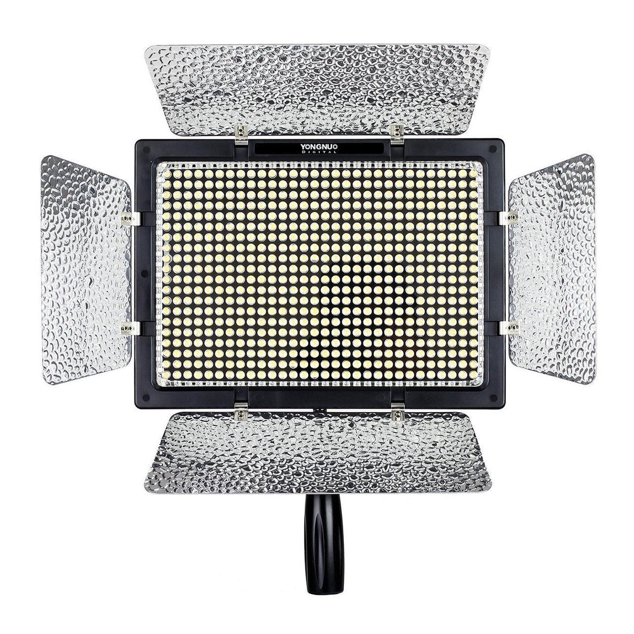 Постоянный накамерный свет, LED панель Yongnuo YN-600L II (bi-color) с bluetooth управлением через телефон.