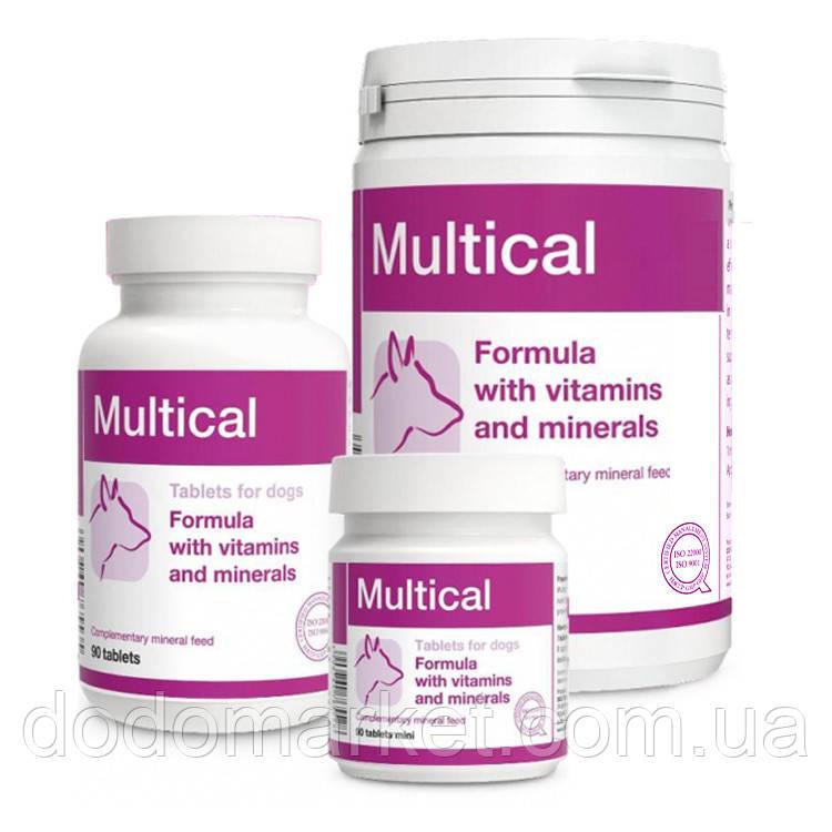 Витамины для собак Dolfos Multical mini 90 таблеток
