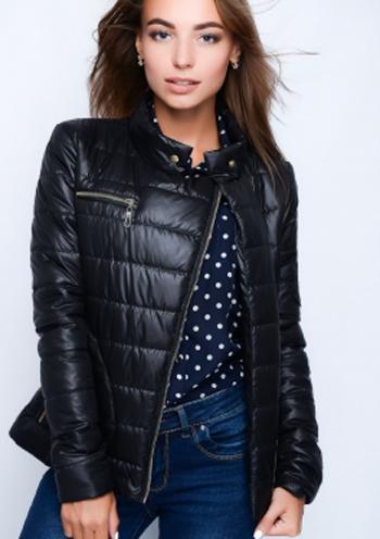 45a0dc67ce9 Купить Женская стеганая куртка-косуха (красный) 8526 Украина ...