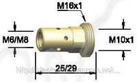 Держатель наконечника BW 142.0022, М8/25 для сварочной горелки BW 501D, фото 1
