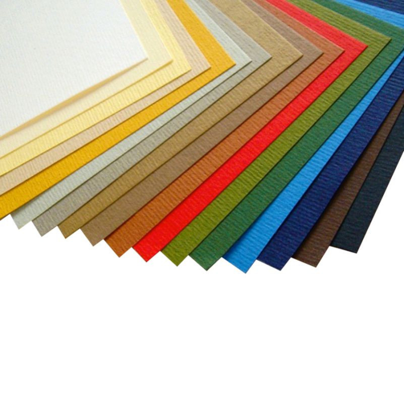 Бумага для пастели B2 Fabriano Murillo 50x70см grigio сhiaro 190г/м2 серый середнє зерно 80013481013
