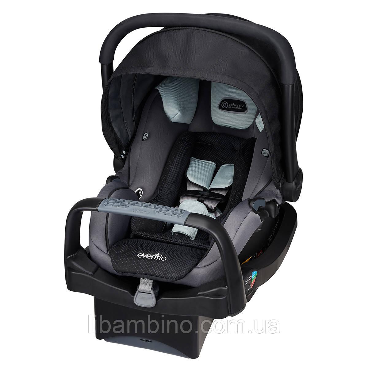 Дитяче універсальне автокрісло Evenflo SafeMax Infant Car Seat колір - Shiloh (група від 1,8 до 15,8 кг)