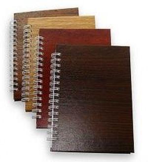 Записная книга блокнот А5 Реверс 96 л. клетка карт. обл. спираль Алкор ЗА5.96-195