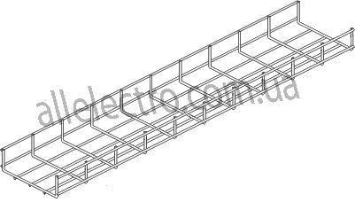 Кабельний лоток дротовий (дротовий лоток, лоток сітчастий, сітчастий лоток)ДКС