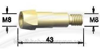 Держатель наконечника BW 142.0021, М8/М8/43 для сварочной горелки BW 40KD